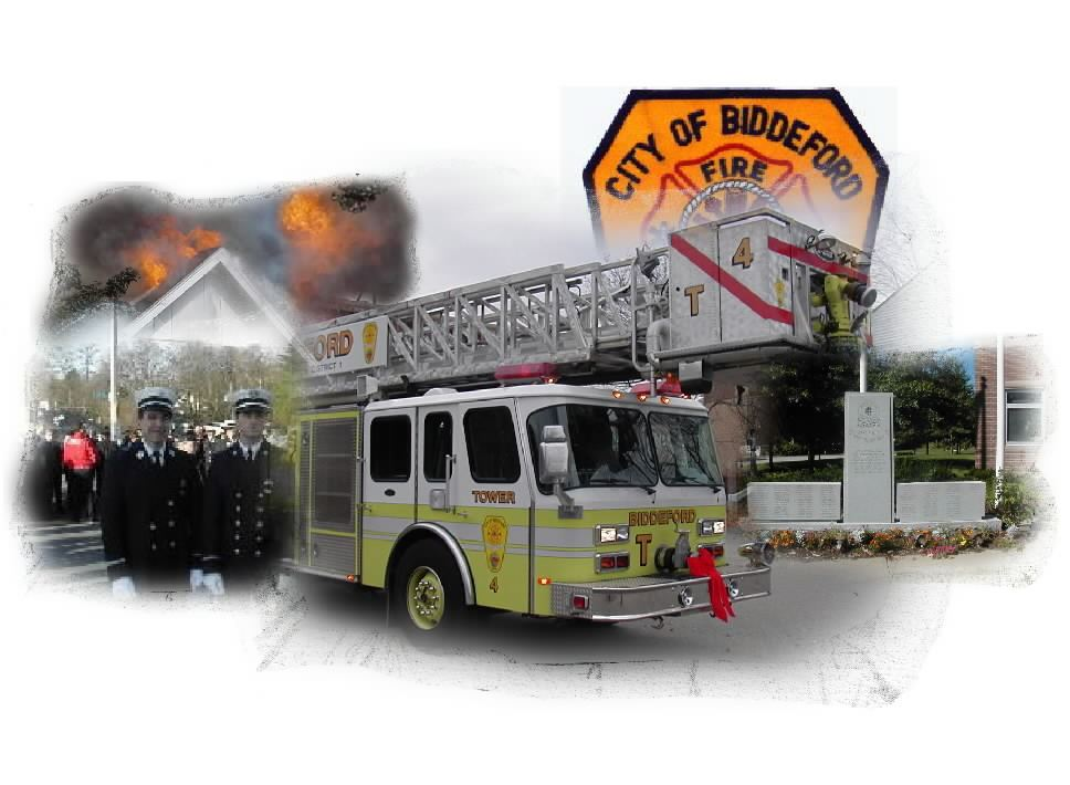 Fire Department Collage