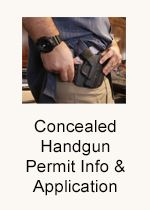 Concealed Handgun Permit Information and Application
