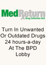 MedReturn - Turn in unwanted or Outdated Drugs