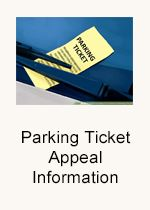 Parking Ticket Appeal Information