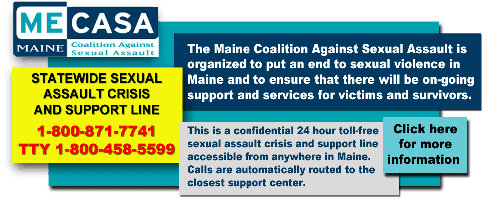 Maine Coalition Against Sexual Assault (MECASA)