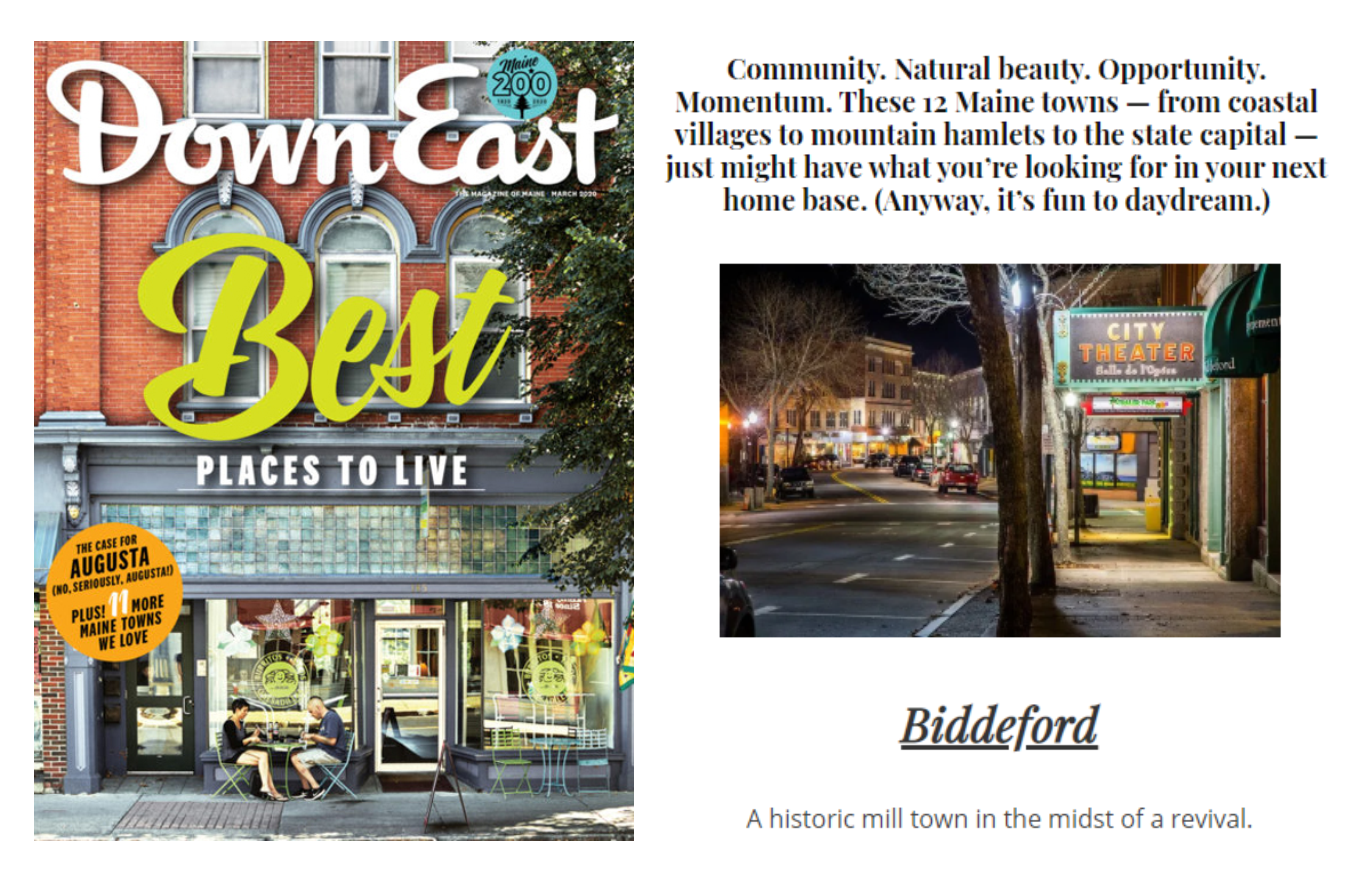 Down East Magazine 12 Best Places to Live in Maine