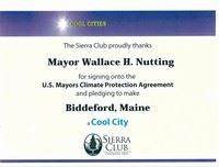 Cool City Certificate